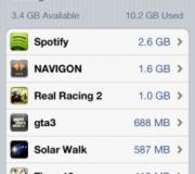 Средний размер приложений и игр для iOS увеличился