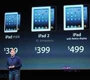 Оснащение iPad mini Retina дисплеем может увеличить его стоимость на 30%