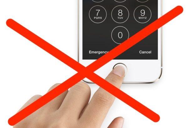 В iOS 11 нашли функцию быстрого отключения Touch ID.
