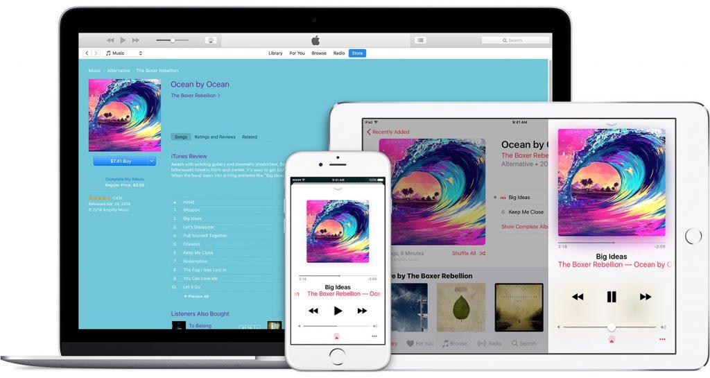 Apple Music предпочитает молодежь.