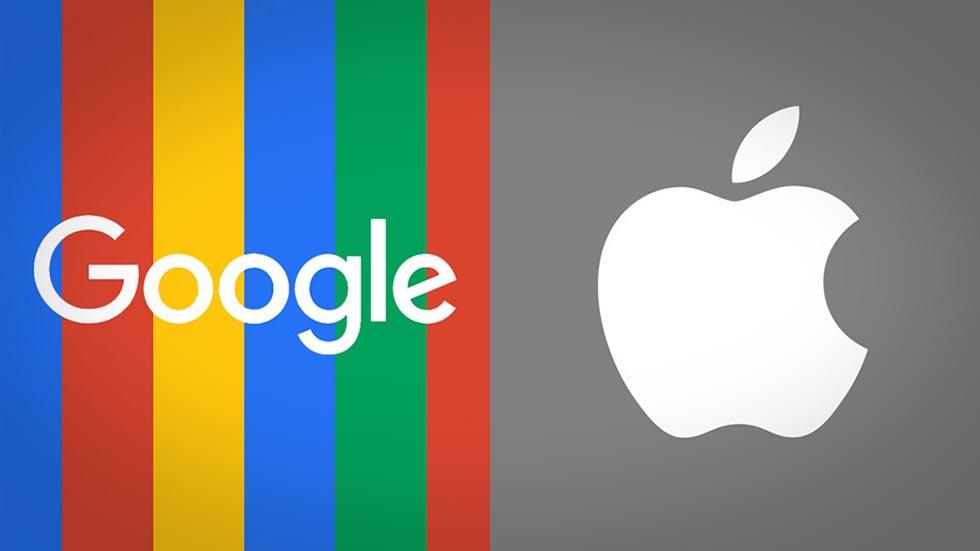 Apple сотрудничает с Google.