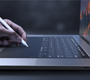 В новых MacBook может быть сенсорная клавиатура.