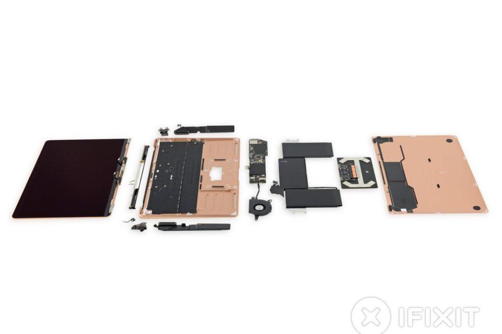 iFixit разобрали новый MacBook Air.