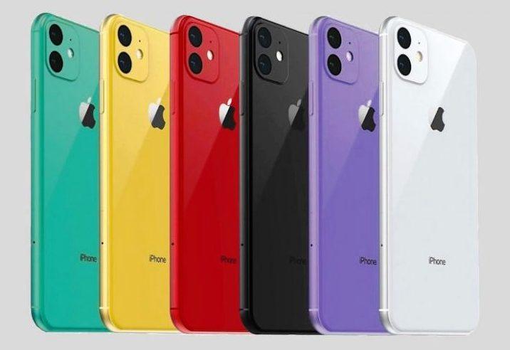 Как будет выглядеть iPhone XR 2 в новых цветах.