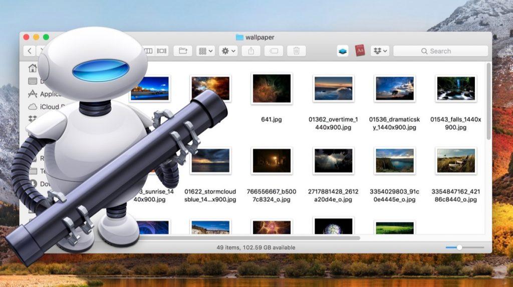 Как включить автоматическую сортировку файлов в macOS?