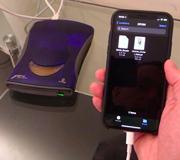 К iPhone можно подключить дискеты.