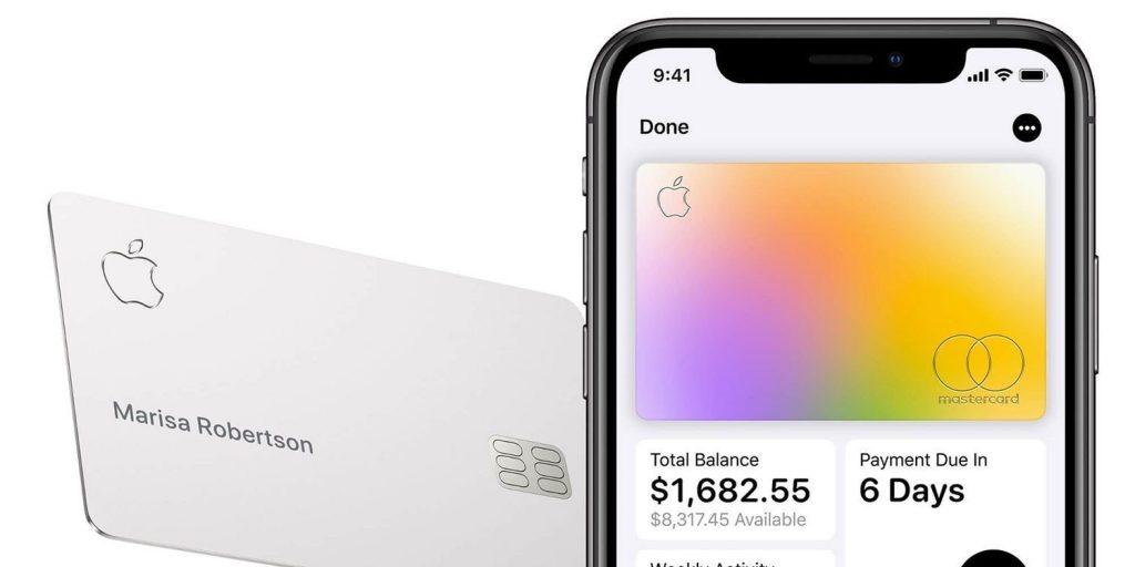 Apple Card блокируется при краже iPhone.