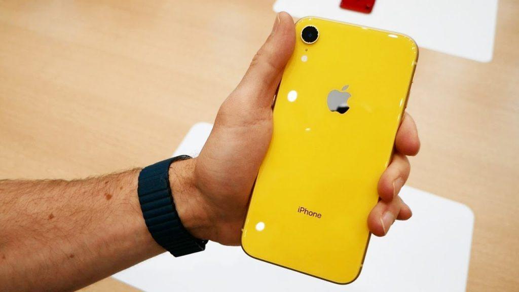 iPhone XR – самый продаваемый смартфон.