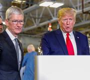 США может освободить Apple от оплаты пошлин на импорт.