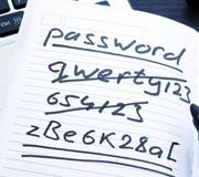 Назван рейтинг худших паролей года.
