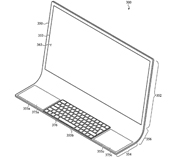 Apple запатентовала новый iMac.