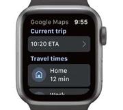 Google Maps вернутся на Apple Watch.