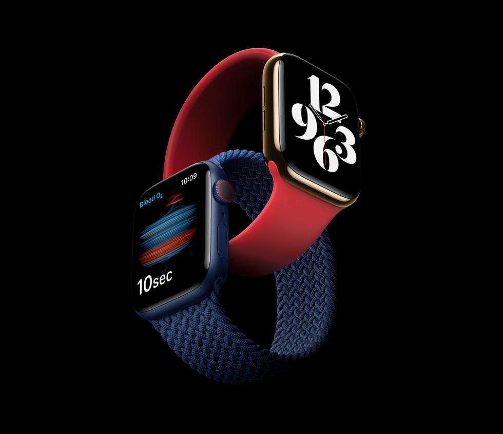 Встречайте,Apple Watch Series 6!
