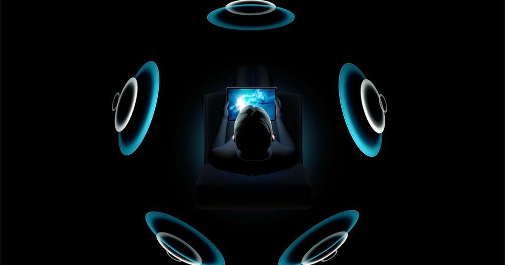 Не все устройства поддерживают пространственное аудио через динамики.